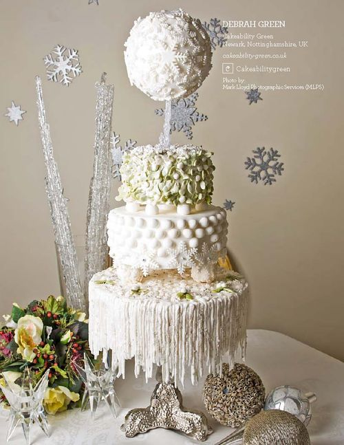 Mariage - WINTER CAKE IDEAS & INSPIRATIONS
