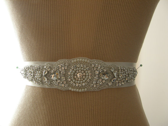 Свадьба - SALE / Wedding Belt, Bridal Belt, Bridesmaid Belt, Sash Belt, Wedding Sash, Bridal Sash, Belt, Crystal Rhinestone & Pearl