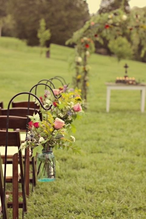 Свадьба - Chair Covers & Chair Decoration