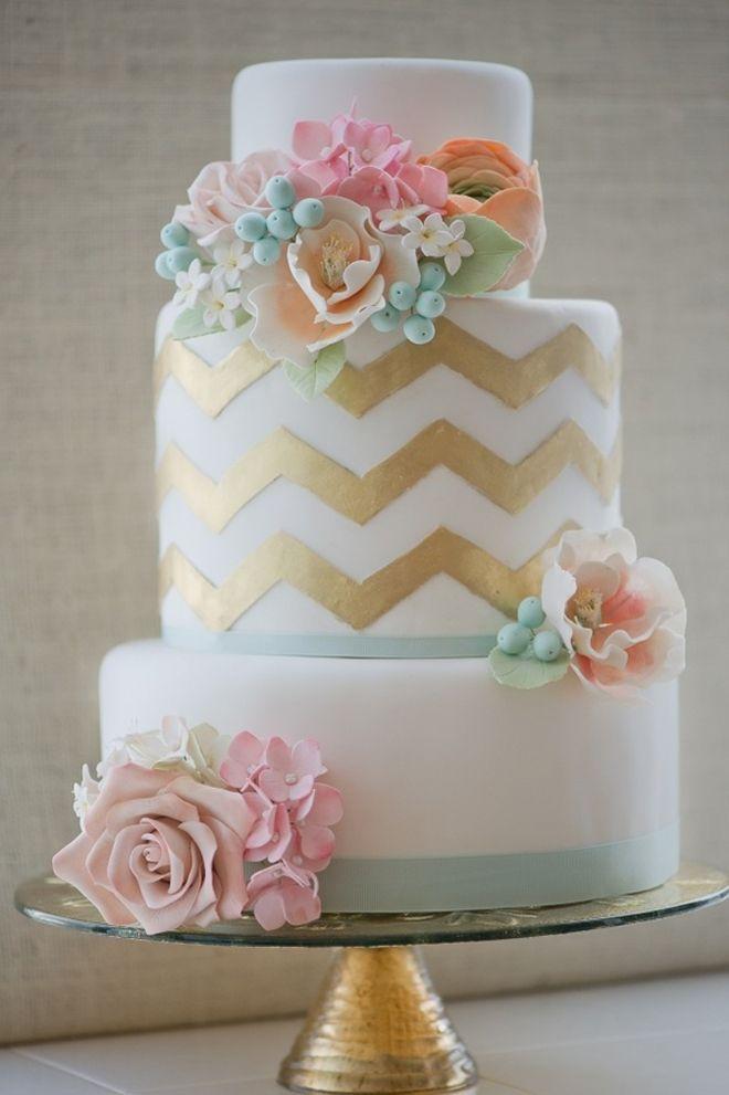 Wedding - Glamorous Wedding Cakes