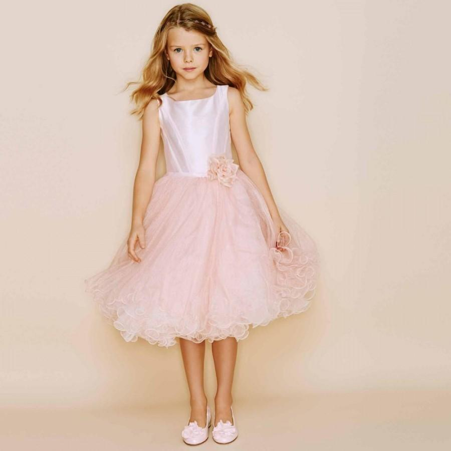2015 Spring Full Tulle Ruffled Layers Glitter Thread Gives Girls