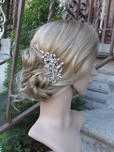 Mariage - Wedding hair comb bridal hair comb wedding accessory bridal hair piece wedding comb bridal hair jewelry wedding hair accessory bridal comb