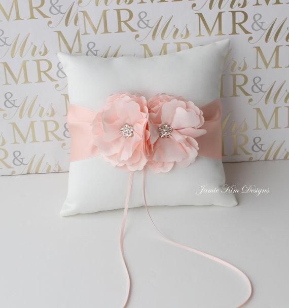 Mariage - Ring Bearer Pillow/ Wedding Pillow