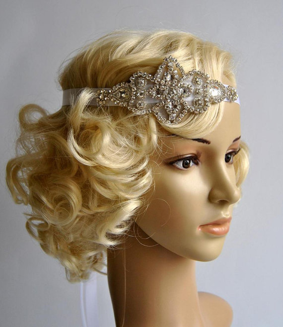 Gallery For Flapper Hairstyles With Headband