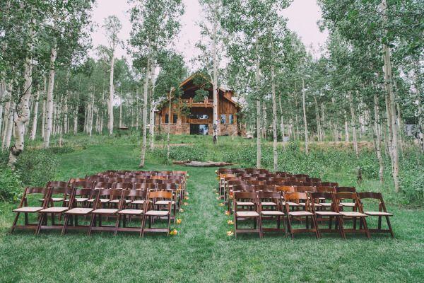 Свадьба - Rustic Park City Wedding