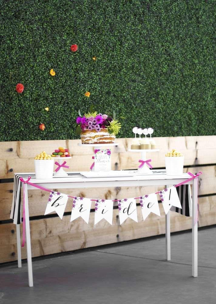 garden party bridal shower bridalwedding shower party ideas