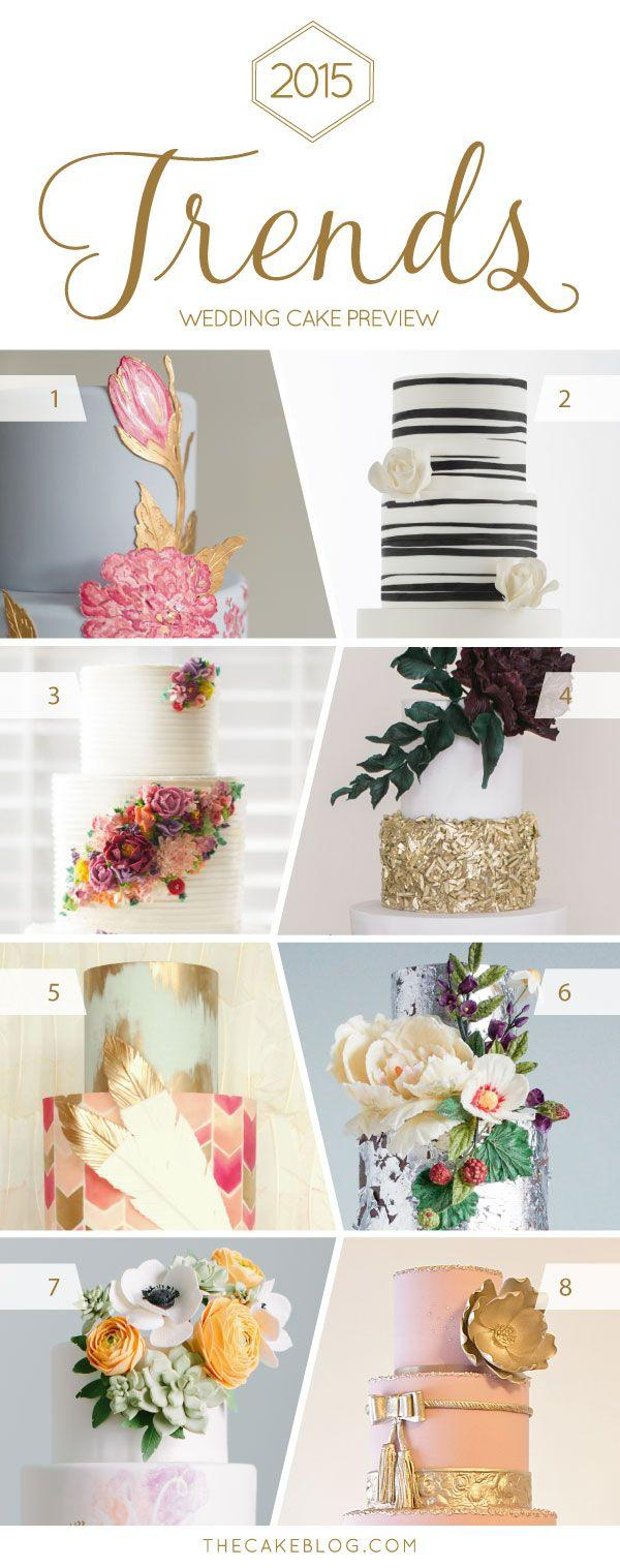 Wedding - 2015 Wedding Cake Trends