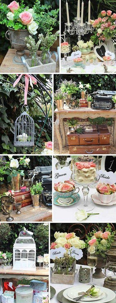 Wedding -  - A Glamorous & Classic Garden Wedding