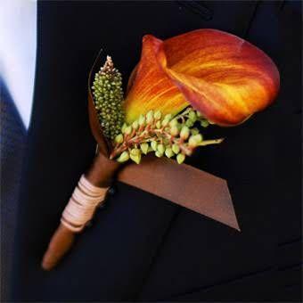 Свадьба - Fall Wedding Flower Ideas