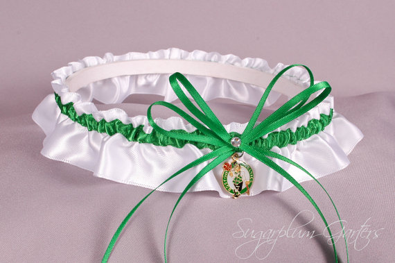 Mariage - Boston Celtics Wedding Garter