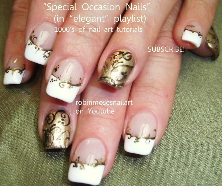زفاف - ELEGANT Nail Art Pictures And Tutorials