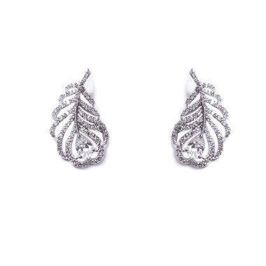 Wedding - Long Island Bridal Earrings (ic)
