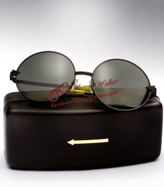 Свадьба - Cheap Karen Walker Von Trapp Round Frame Sunglasses Black [Karen Walker Von Trapp Black] - $189.00 : Legal Karen Walker sunglasses online outlet,100% authentic