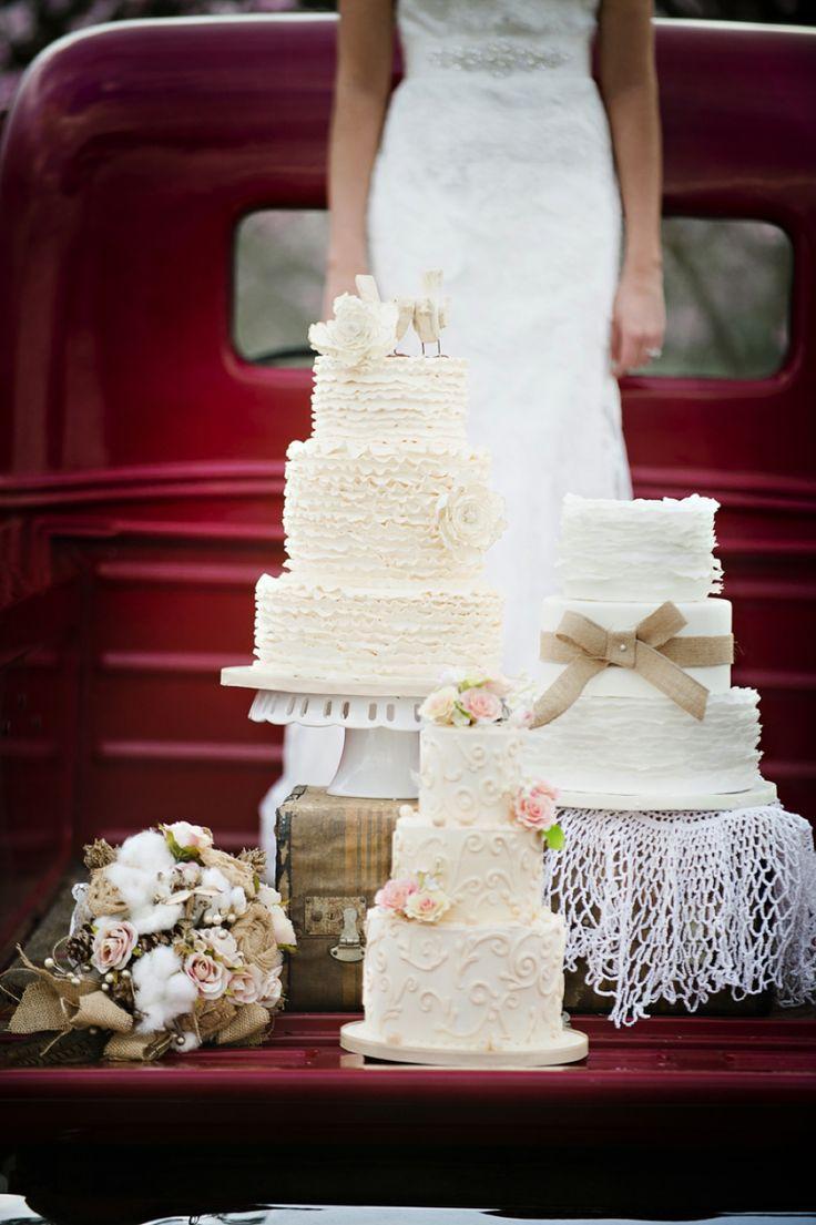 Hochzeit - Rustic Wedding Cake Ideas