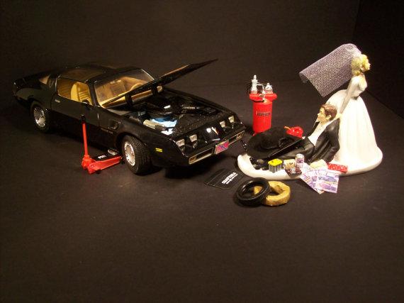 AUTO Mechanic 1979 Pontiac Trans Am FIREBIRD Funny Wedding Cake ...