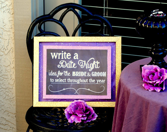 Boda - Chalk Board Sign - Date Night Sign - Wedding Sign - Bridal Shower Sign - Wedding Invitation- Wedding - Chalk Sign - Floral- INSTANT Download