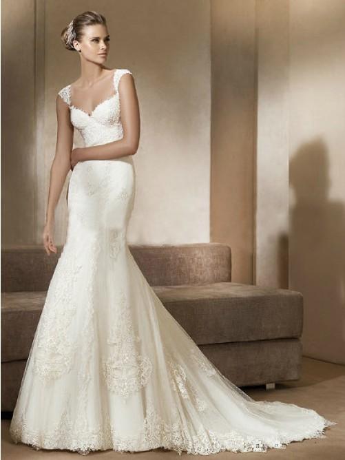 Mariage - Beautiful Wedding /Prom Dress in Fairyin.nl