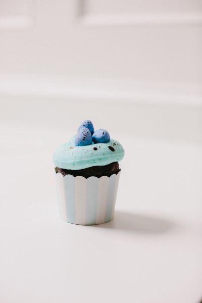 زفاف - Speckled Egg Cupcakes