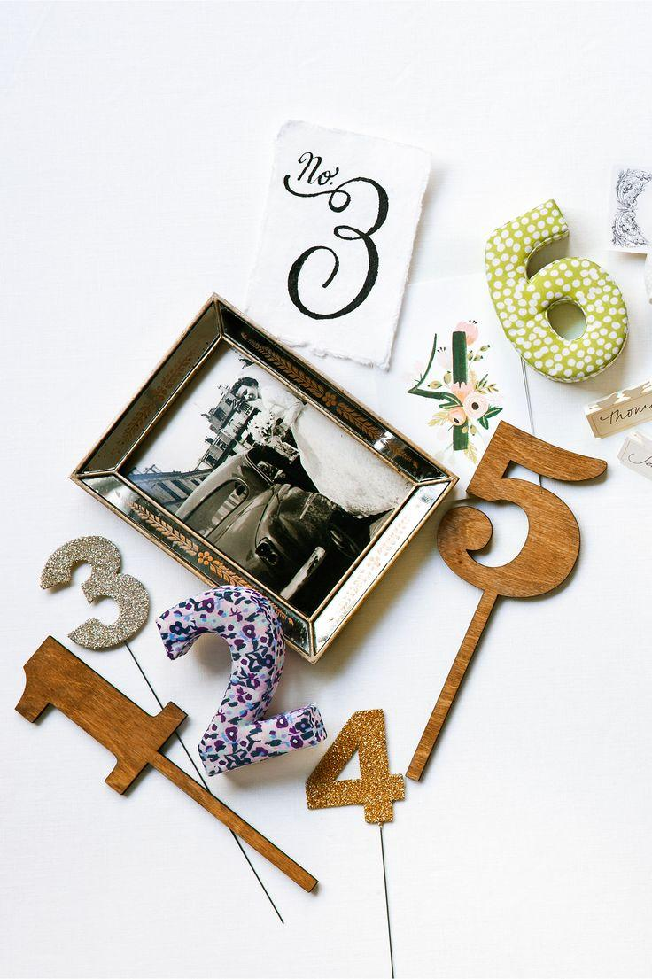 Mariage - Table Numbers