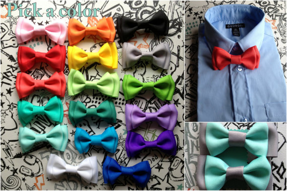 Свадьба - Toddler to Adult bowties baby boys bowties, or mens bowtie perfect for Weddings, Back to School, Thanksgiving, Christmas, as a photo prop