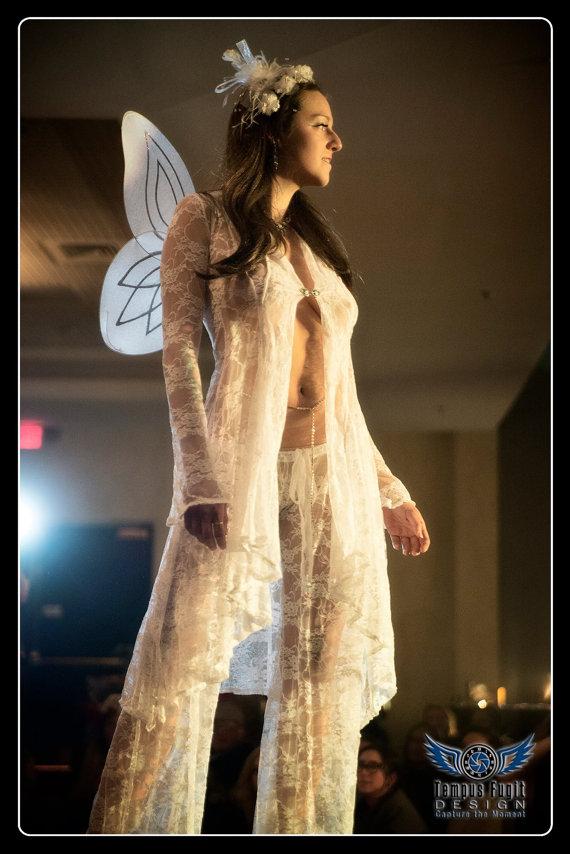 Wedding - Gaucho Drawstring Lace Bridal Boudoir Lingerie Pants