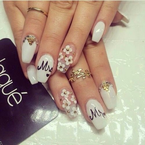 زفاف - Wedding Nail Art