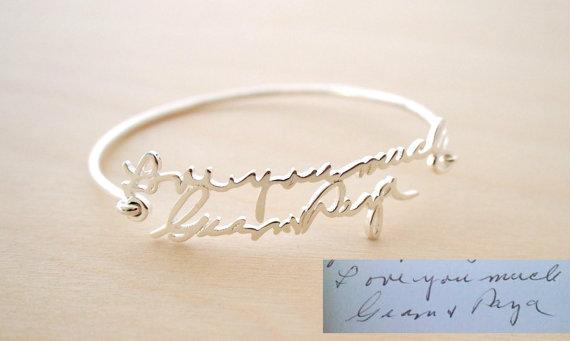 Help with handwriting bracelets