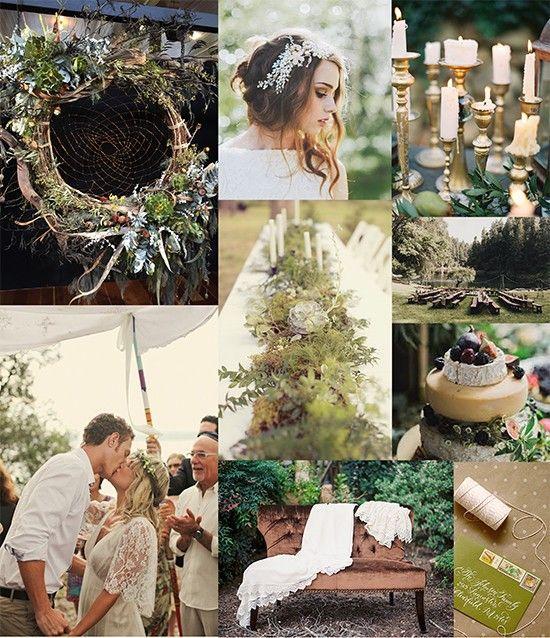 Свадьба - Bohemian Botanical Wedding Bash