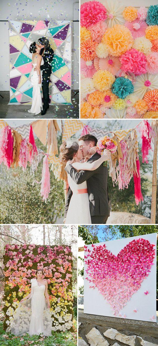 Wedding - Top 20 Unique Backdrops For Wedding Ceremony Ideas