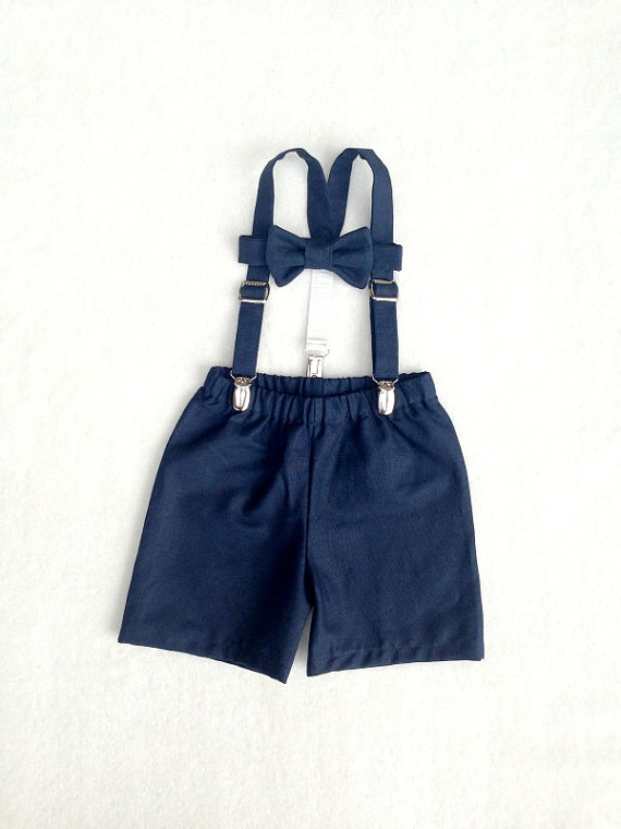 Mariage - Ring Bearer set, Boys outfit, Suspenders Set, Baby boy suit, Braces tie shorts, Ring Boy Outfit, fourtinycousins, Toddler boy, baby boy prop