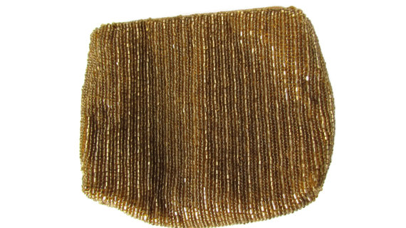 زفاف - Gold Beaded Clutch Bag Vintage La Regale Bridal Bridesmaid Clutch Wedding Accessories  Clutches Evening Bags 40s 60s Mod