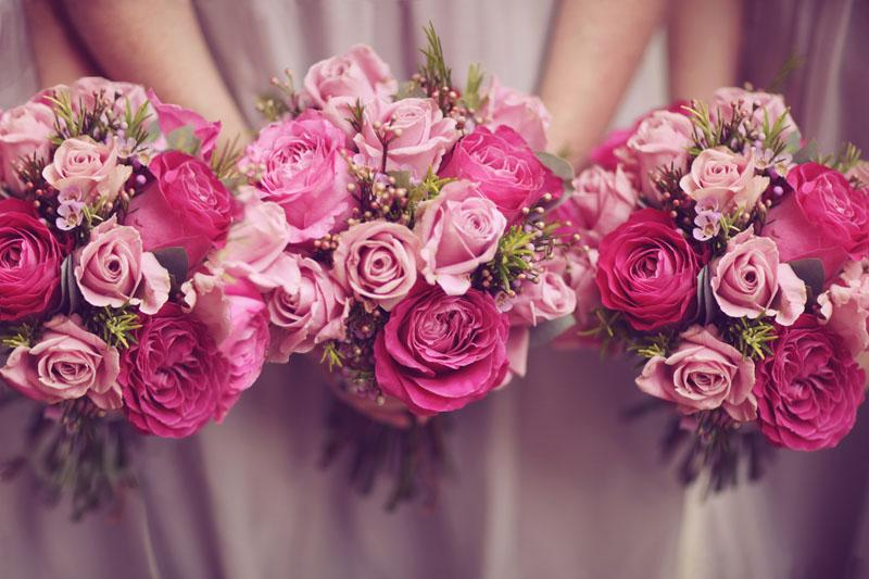 Mariage - Pink flowers