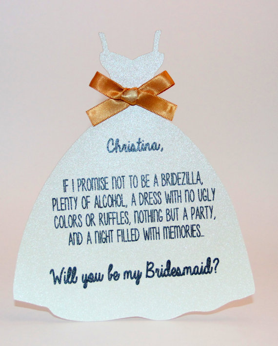 Wedding - Will you be my Bridesmaid?