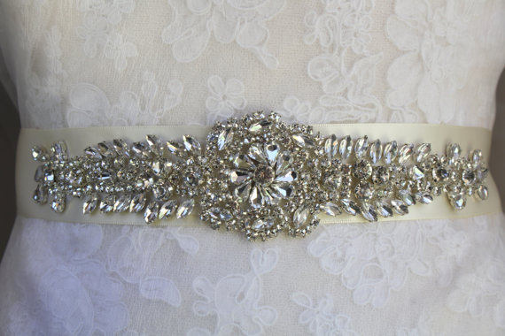 Mariage - Wedding Belt, Bridal Belt, Sash, Bridal Sash, Belt, Crystal Sash, Rhinestone Belt, Wedding Belt Sash, Crystal Wedding Belt