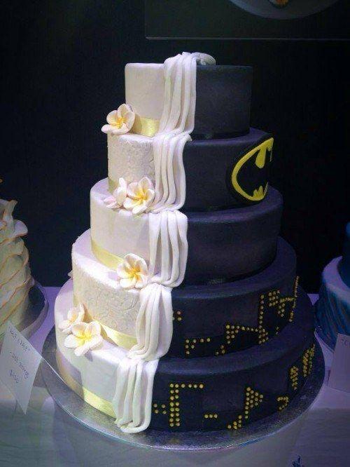 Свадьба - 19 Spectacularly Nerdy Wedding Cakes