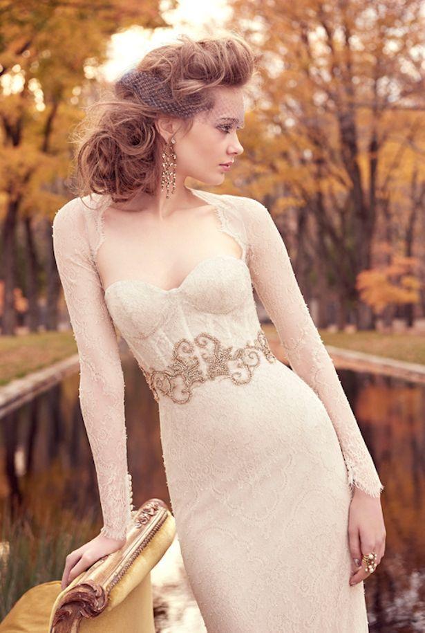 Mariage - Lazaro Bridal Spring 2015