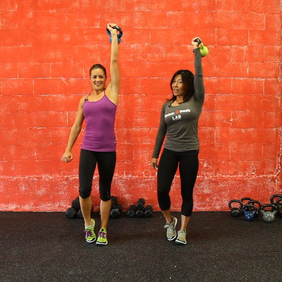 Wedding - It's Time To Try Some Calorie-Crushing Kettlebell Moves