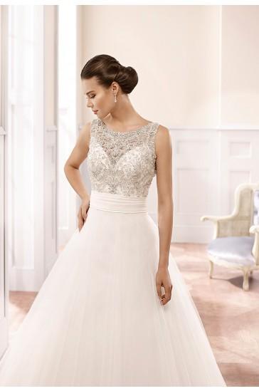 Hochzeit - Eddy K Milano Wedding Gowns 2015 Style MD160