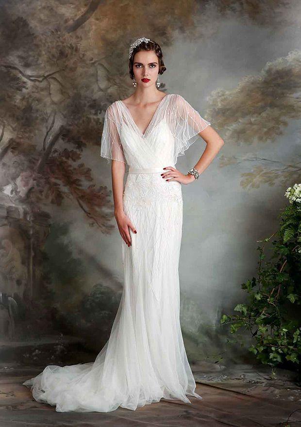 Roaring 20s Style Wedding Dresses Dress Ideas