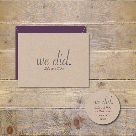 Rustic Thank You Cards Wedding Thank You Cards Wedding Thank You