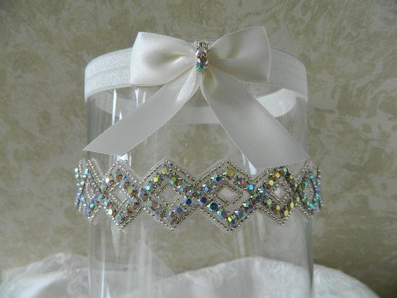 Hochzeit - Wedding Garter,Bridal Garter,Garter AB Rhinestone Garter,Garter Belt, Garter set