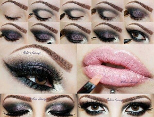 Свадьба - 20 Beautiful MakeUp Tutorials For Brown Eyes
