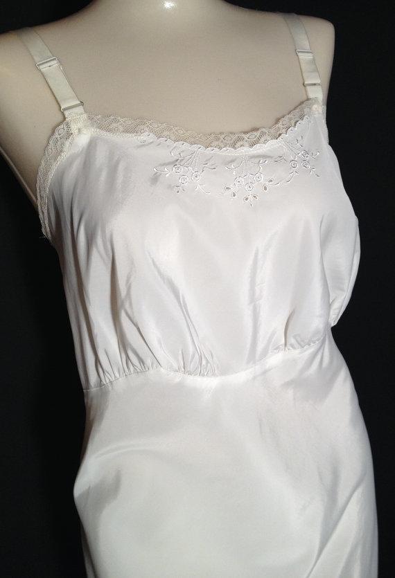 Taffeta Slip Dress
