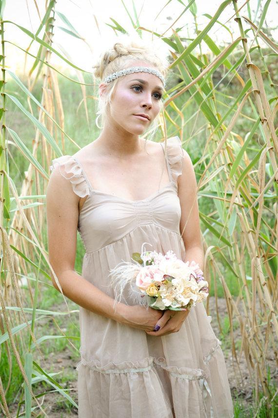 Mariage - Crystal Headband ,Bridal Headband, Vintage Headband,crystal headband, rhinestone headband, wedding hair piece, headpiece,headband