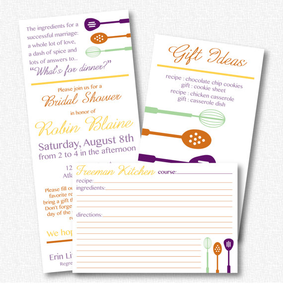 Kitchen theme bridal shower invitation printable 21 101 kitchen theme bridal shower invitation printable 21 101 filmwisefo