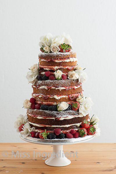 Свадьба - Nude (un-iced) Wedding Cakes