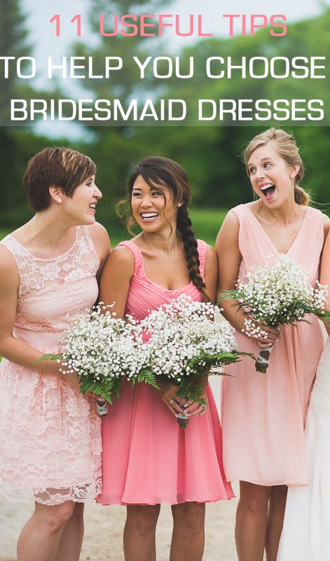 11 Tips On How To Choose Bridesmaid Dresses #2280844 ...