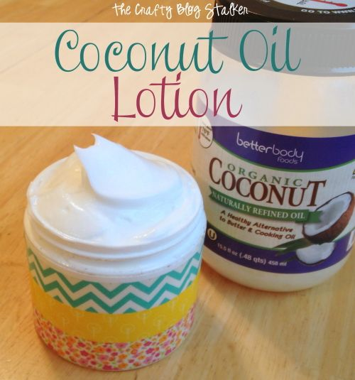 Wedding - Coconut Oil Lotion Recipe