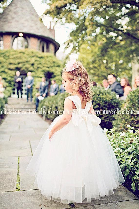 Wedding - Reserved for CHRISTIANE Flower Girl Dress RO