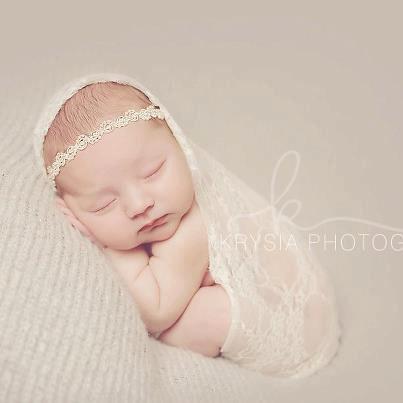 Creme Chantilly - CHOOSE White or Ivory - Lace Pearls Halo Headband - Baby  Infant Newborn Girls Adults - Wedding Baptism 6b3c932a93b